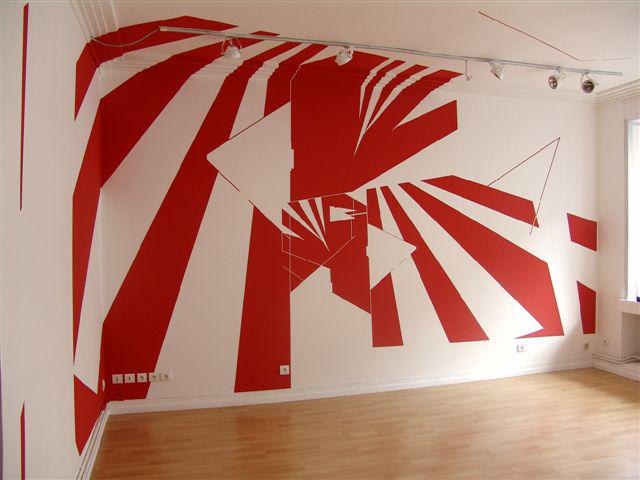 Peinture pailletee murale interview du designer mural - Peinture pailletee murale ...